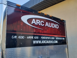 Truck Wrap for ARC Audio by NV Wraps
