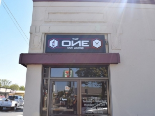 Outdoor Storefront Sign