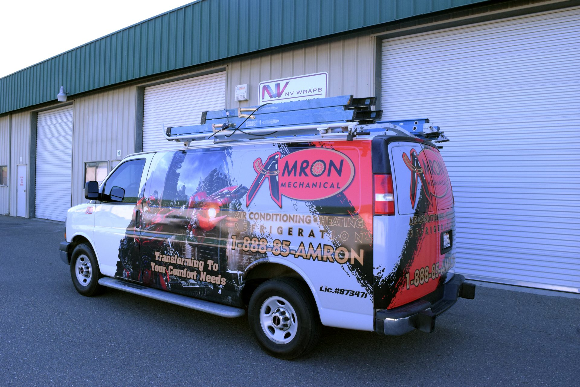 Nv Wraps Commercial Vehicle Wraps