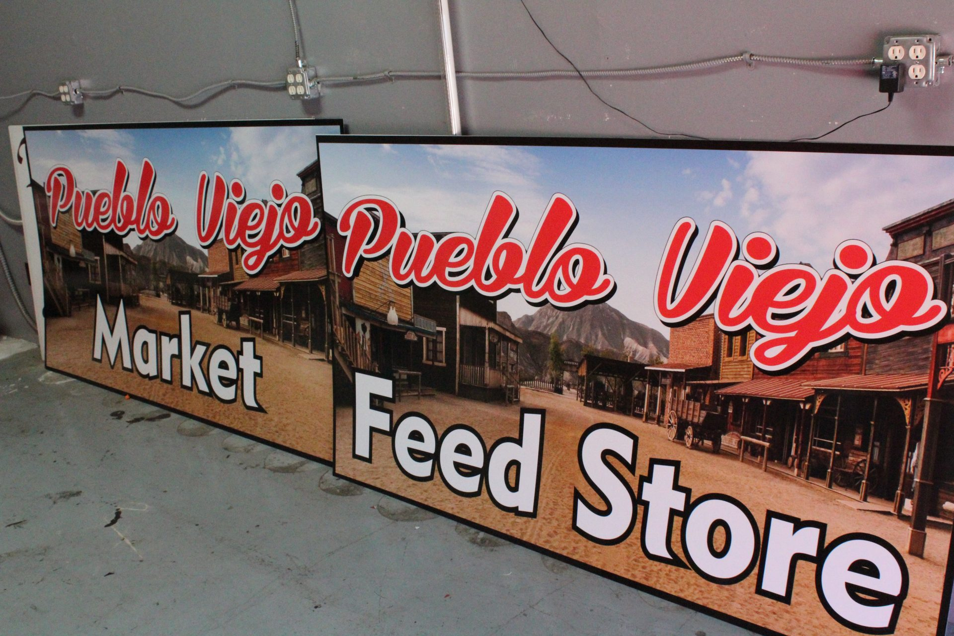 Storefront Signs by NV Wraps