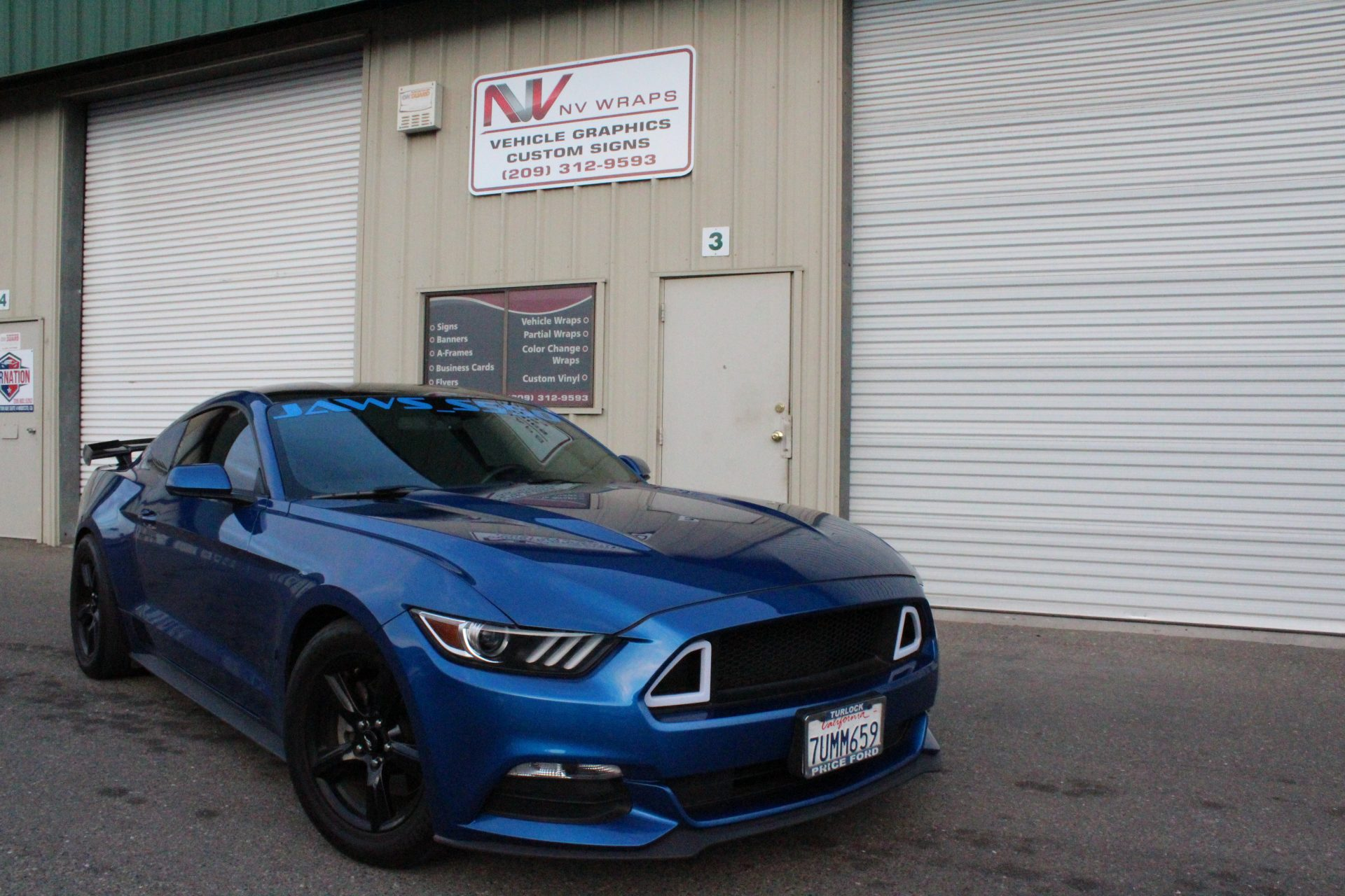 Car Wrapped by NV Wraps