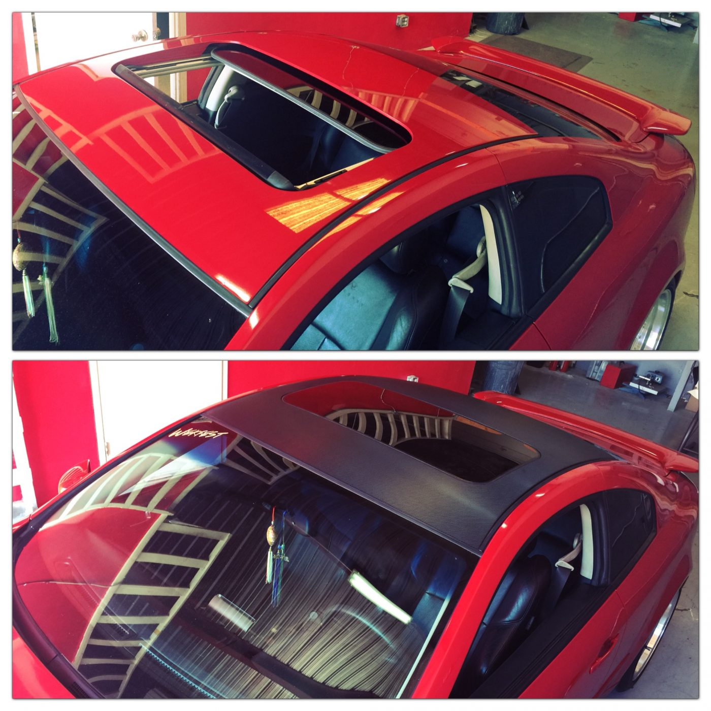 Color Change Car Wrap Roof
