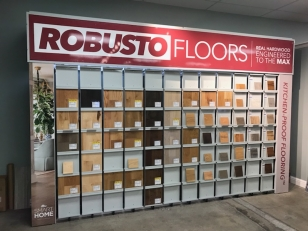 Wall Sign for Robusto Floors